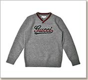 グッチ 子供服 ウールセーター