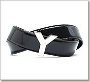 YSL ベルト クラシック ブラック レディース