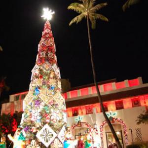 クリスマスツリー ホノルル