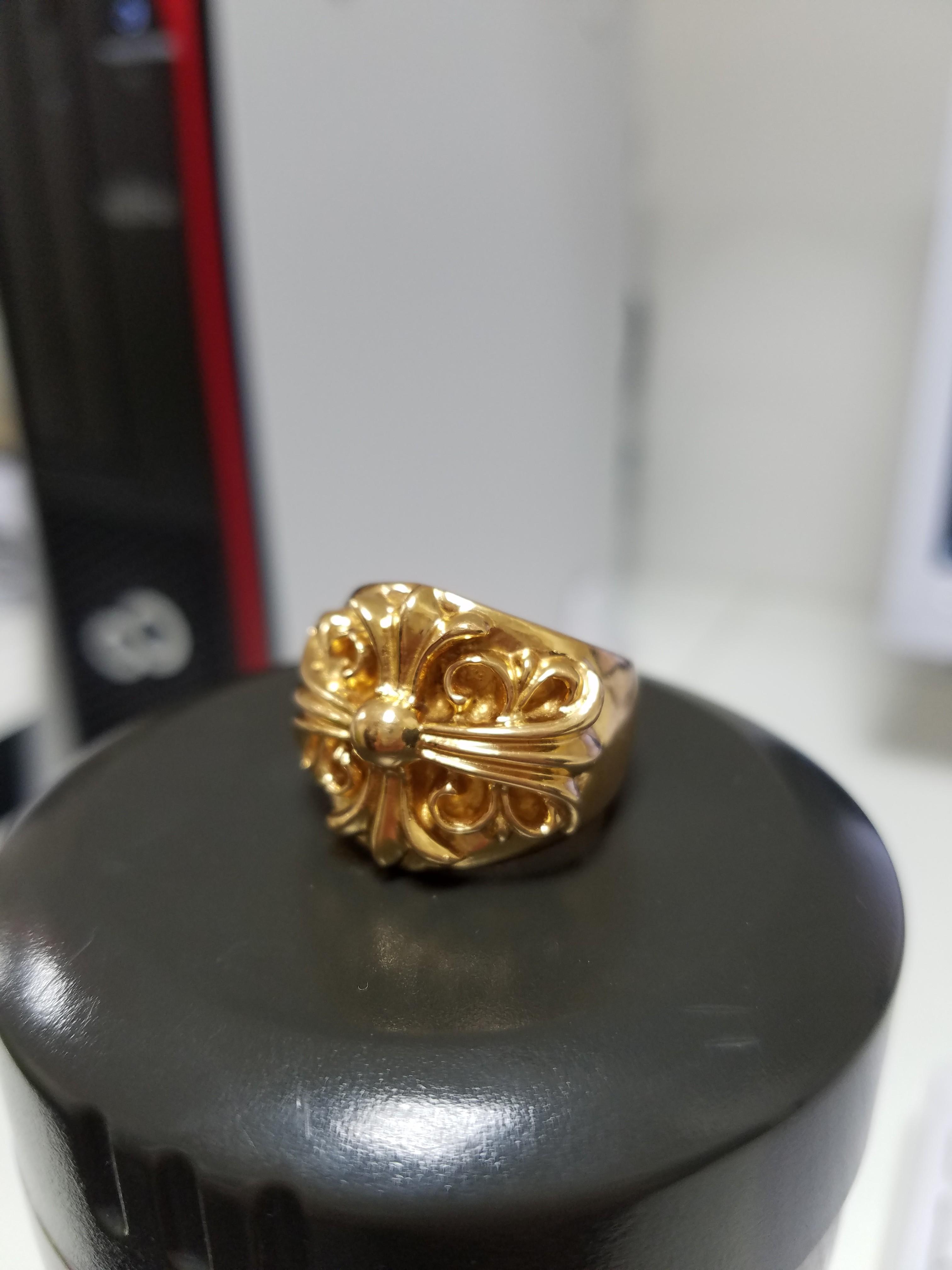 クロムハーツ キーパーリング 指輪 22K