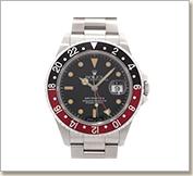 ロレックス  GMTマスターⅡ16710 赤×黒