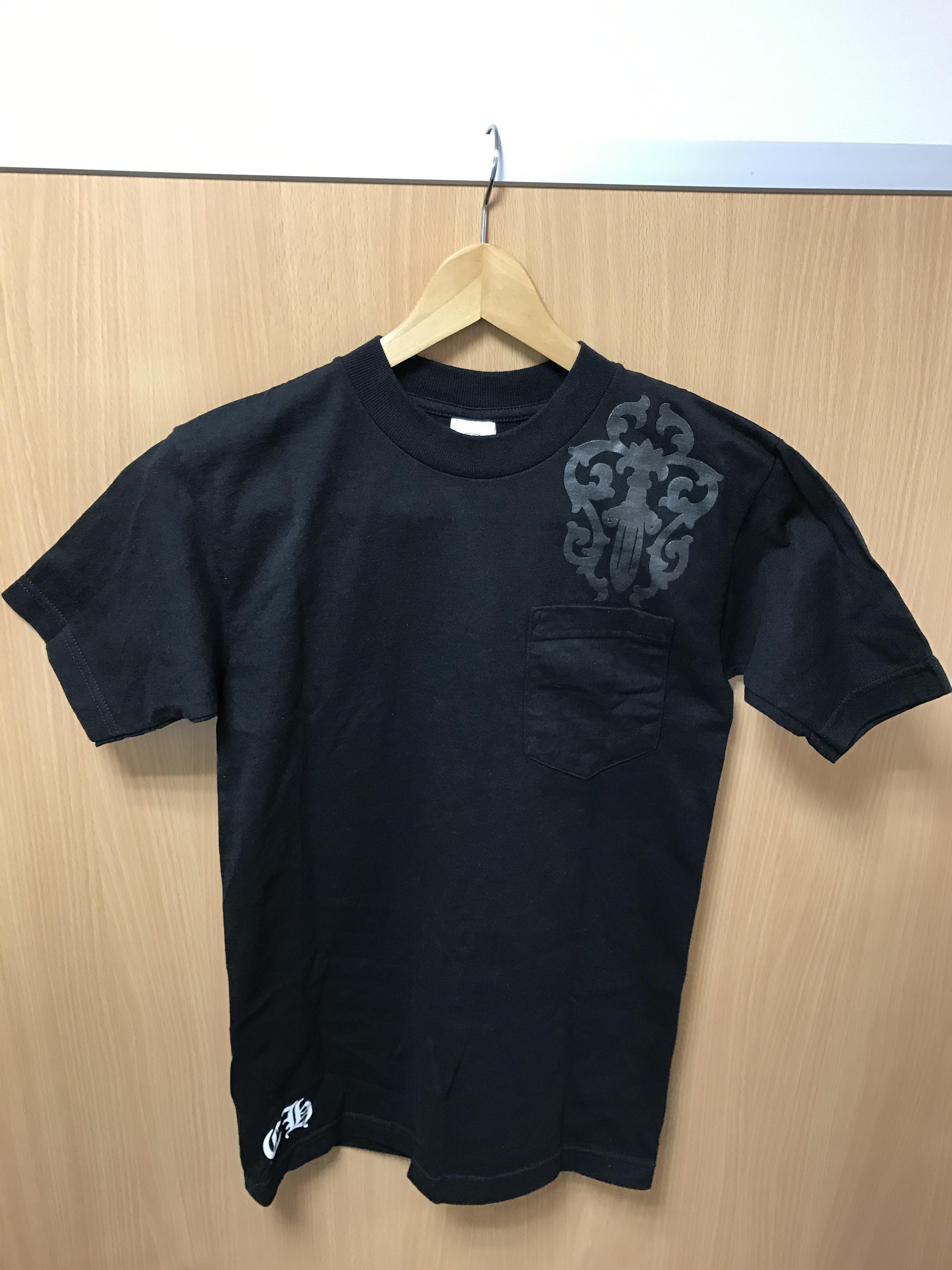 クロムハーツ Tシャツ ブラック メンズ