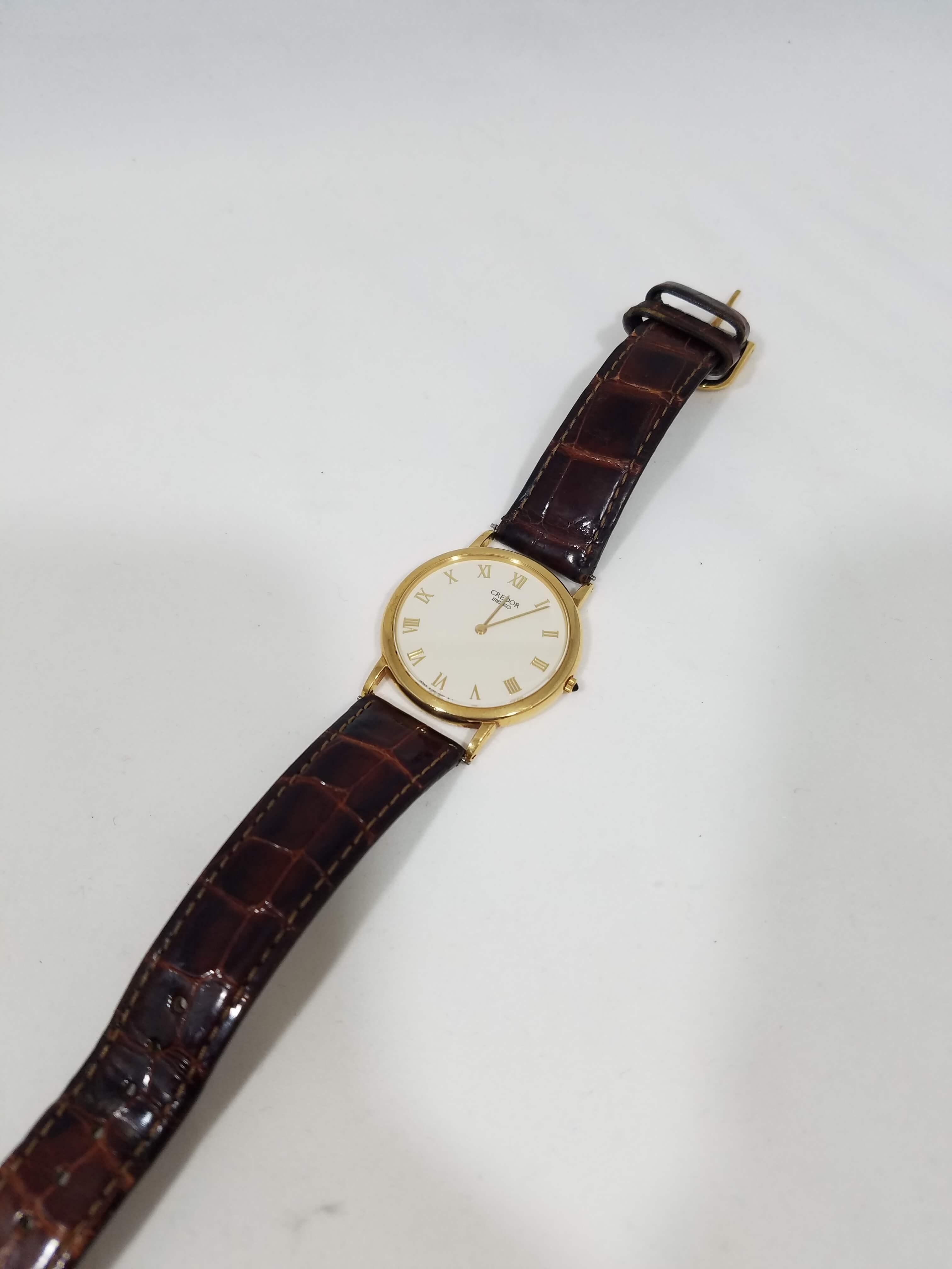 SEIKO(セイコー) クレドール 腕時計 K18YG