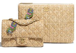 銀座並木限定のハンドバッグとクラッチバッグ