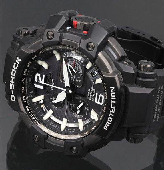 CASIO カシオ G-SHOCK ジーショック GPW-1000 タフソーラー メンズ 腕時計 黒