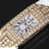 AUDEMARS PIGUET オーデマ・ピゲ チャールストン ダイヤ K18PG 670280R レディース 腕時計