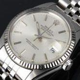 ROLEX 銀座 ロレックス 16014 デイトジャスト メンズ 腕時計 シルバー文字盤