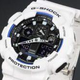 CASIO カシオ G-SHOCK ジーショック GA 100B-7AJF メンズ 腕時計 ホワイト クォーツ
