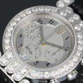 ハリーウィンストン プルミエール クロノグラフ アフターダイヤ WG 腕時計