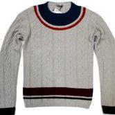 ボッテガ ヴェネタ 長袖 ニット グレー系 メンズ size52 セーター