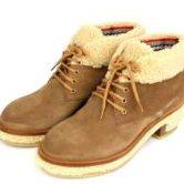シャネル モコモコ ブーツ 靴 レディース ベージュ size37