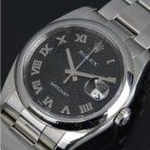 ロレックス 116200 デイトジャスト コンピューター 黒 メンズ 腕時計 M番