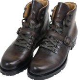 Berluti ベルルッティ ブルニコ ボルザーノ レザー ブーツ マウンテンブーツ シューツリー付き メンズ シューズ 靴 ブラウン カーキ系 size7
